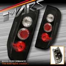 Black Altezza Tail lights for Nissan Navara & Frontier D40