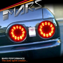 LED Tail Lights for Nissan R32 Skyline Coupe GTS-T GT-R GT4 RB250DET