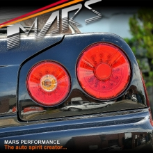 Red Clear LED Tail Lights for Nissan R34 Skyline Coupe GTS-T GT-R GT-T RB25DET