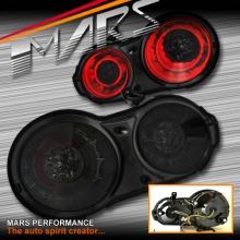 Smoked Black 3D LED Stripe Bar Tail Lights for Nissan Skyline GTR R35