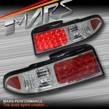 Crystal Clear LED Tail Lights for Nissan 200SX Silvia S14 93-98