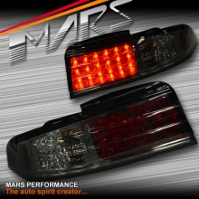 Full Smoked LED Tail Lights for Nissan 200SX Silvia S14 93-98