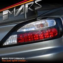 YOSHIO STYLE JDM Black LED Tail Lights for Nissan 200SX Silvia S15