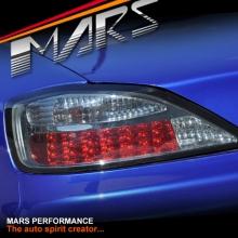 YOSHIO STYLE Smoked LED Tail Lights for Nissan 200SX Silvia S15