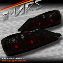 Smoked Red Non LED Tail Lights for Nissan 200SX Silvia S15