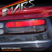 Smoked Red Tail Lights for Nissan Z32 300ZX Fairlady