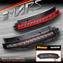 Smoked Full LED Tail Reverse & Indicator Turn Signal lights for Nissan 350Z Z33 FairLady