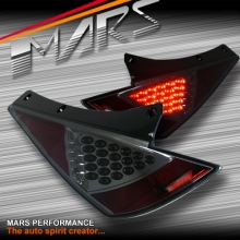 Full Smoked LED Tail lights for Nissan 350Z Z33 FairLady 03-05 Series 1