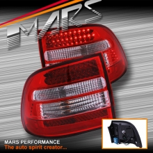 Clear Red LED TailLight Tail Lights for PORSCHE CAYENNE 955 9PA 03-06