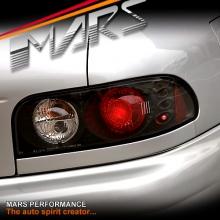 JDM Black Altezza Tail Lights for Subaru Impreza 93-00 GC8 Sedan