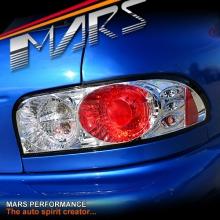 Crystal Clear Altezza Tail Lights for Subaru Impreza 93-00 GC8 Sedan