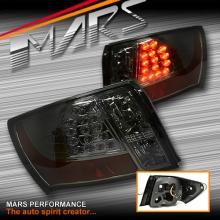 Smoked Chrome LED Tail Lights for Subaru Impreza 07-13 Sedan
