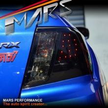 Smoked Black LED Tail Lights for Subaru Impreza 07-13 Sedan!