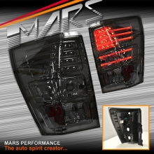 Smoked Black LED Tail Lights for Suzuki Grand Vitara 06-14