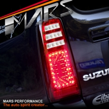 JDM Clear Red LED Tail Lights with LED Indicators for Suzuki Jimny