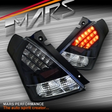 JDM Black LED Tail lights for Suzuki Swift 04-06, 07-10 & Sports