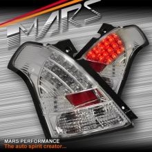 Crystal Clear LED Tail lights for Suzuki Swift 04-06, 07-10 & Sports