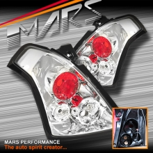 Crystal Clear Altezza Tail Lights for Suzuki Swift Series 2 07-10