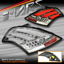 Crystal Clear LED Tail lights with LED indicators for Suzuki Swift Hatch 11-17