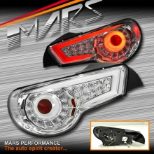 Crystal-Eye Clear Full LED Tail lights for Toyota 86 GT GTS & Subaru BRZ