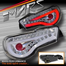 Crystal Full LED Tail lights for Toyota 86 GT GTS & Subaru BRZ