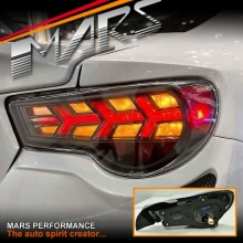 Buddy Club Full LED Tail lights for Toyota 86 GT GTS & Subaru BRZ Coupe