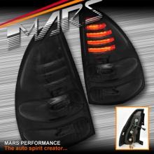 Smoked Black LED Tail Lights for TOYOTA LANDCRUISER Prado FJ120 03-09