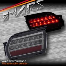 Smoked LED Rear Fog Brake Tail Lights for TOYOTA LANDCRUISER Prado 09-17