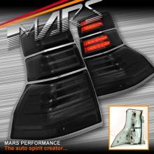 Smoked Black LED Tail Lights for TOYOTA LANDCRUISER Prado 09-13 KS