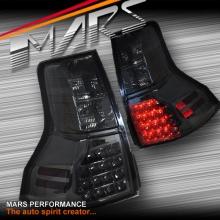 Smoked Black LED Tail Lights for TOYOTA LANDCRUISER Prado 09-13 SN