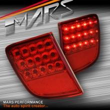 Red LED Rear Fog Brake Tail Lights for TOYOTA LANDCRUISER 200 Series 07-15