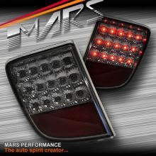 Full Smoked LED Rear Fog Brake Tail Lights for TOYOTA LANDCRUISER 200 Series 07-15