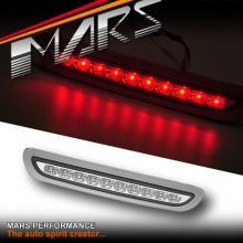 Silver LED High Mount Brake Third Tail lights for Toyota Hiace VAN 05-14