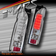 Crystal Clear LED Tail lights for Toyota Hiace VAN 05-17