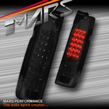 Smoked Black Full LED Tail lights for Toyota Hiace VAN 05-17