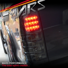 Smoked Black LED Tail lights for Toyota Hilux VIGO 04-15 KS