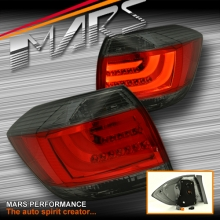 Smoked Red 3D LED Stripe Tail lights for Toyota HighLander Kluger 11-13