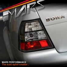 Black LED Tail lights for VolksWagen Bora & Jetta 98-04 MK4
