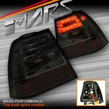 Full Smoked LED Tail lights for VolksWagen Bora & Jetta MK4 98-04