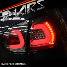 Full Smoked 3D Full LED Tail lights for VolksWagen VW Golf V Hatch MK-5 03-08