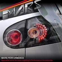 Black LED Altezza Tail lights for VolksWagen VW Golf V MK-5 03-08