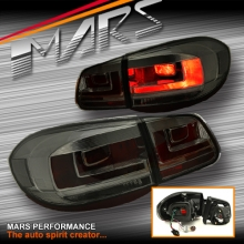 Full Smoked Face Lift Style Tail lights for Volkswagen VW Tiguan 5N 08-11