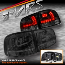 Smoked Black LED Tail lights for Volkswagen VW Touareg 7L 03-07