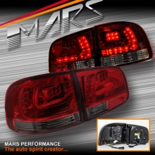 Smoked Red LED Tail lights for Volkswagen VW Touareg 7L 03-07