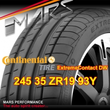 CONTINENTAL Extremecontact DW high performance 245 35 ZR19 93Y XL Sports Asymmetric Tyre
