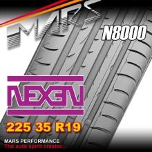 Nexen N8000 ultra high performance 225 35 ZR19 XL 88W Asymmetric Tyre