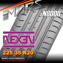 Nexen N8000 ultra high performance 225 35 ZR20 XL 90Y Asymmetric Tyre