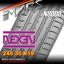 Nexen N8000 ultra high performance 245 35 ZR19 XL 93Y Asymmetric Tyre