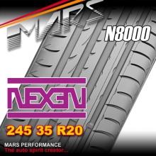 Nexen N8000 ultra high performance 245 35 ZR20 XL 95Y Asymmetric Tyre