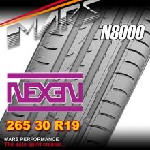 Nexen N8000 ultra high performance 265 30 ZR19 XL 93Y Asymmetric Tyre